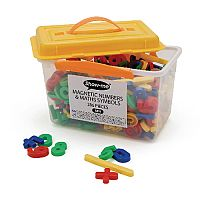 Show-Me Tub Of 286 Magnetic Maths Symbols And Numbers  Mn