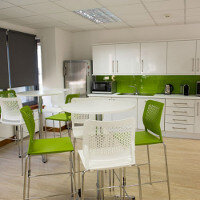Sidetrade - Credit Management Company - Dublin Canteen Fitout by HuntOffice Interiors