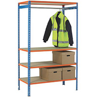 Simonclick Garment Unit Extra Shelf Orange 378911