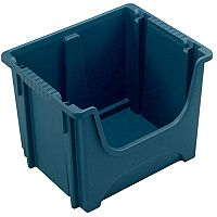 Space Bin Container Pack of 3 Dark Grey 50 Litre 382592