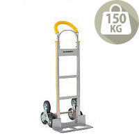Stairclimbing Aluminium Hand Truck Capacity 150Kg With Rubber Wheels 317674