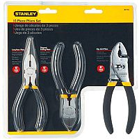 Stanley 3 Piece Pliers Set Pack of 3
