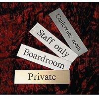 Stainless Steel Prestige Range Sign Private
