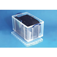 Really Useful Box Transparent Container 84 Litres