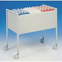 Economy Suspension File Trolley To Fit 80Xa4 Size Suspension Files