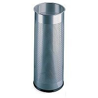 Umbrella Stand / Waste Bin Silver