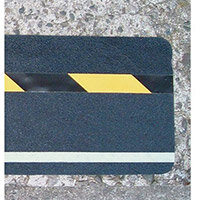 Hazard Warning Tape Multi Warning Glow In The Dark  Hazard Warning Diagonal Stripe 150 x 610mm Pack 10