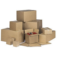 Single Wall Carton 216x152x152mm Pack of 20