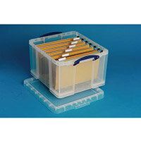 Really Useful Box 35 Litre Capacity Transparent