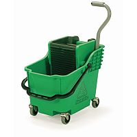 Mopping Kit Green Bucket