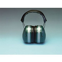 High Protection Ear Muff Defenders 36dB Noise Reduction Green