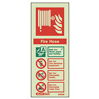 Photoluminescent Self Adhesive 200X800mm Fire Hose Instructions