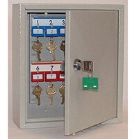 Key Cabinet With Key Lock For 20 Keys