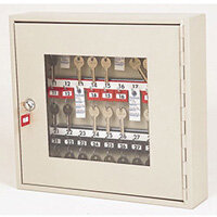 Glass Fronted Key Cabinet 30 Key Capacity