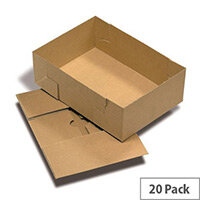 A4 Boxes And Lids 305x215x100mm