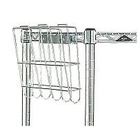 Mobile Shelf Trolley File Basket
