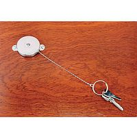 Self-Retracting Keyreel Standard Model With Spring Clip Pack of 6