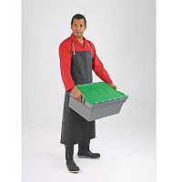 Rubber Aprons Black