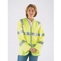 Hi-Visibility Long Sleeved Waistcoats To Bs EN471 Class III Size M