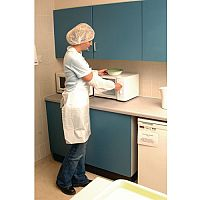 Disposable Polythene Aprons White Pack of 10