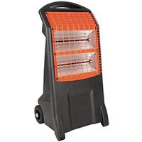 Mobile Commercial Quartz Heater 110V