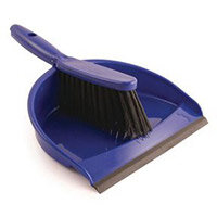 Dustpan & Brush Set Blue