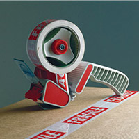 Standard Dispenser With Safety Guard & Brake For Tape up to 50mm Wide Pack of 5