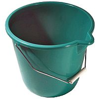 Plastic Bucket Green Pack of 4