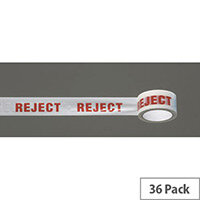 Message Tape Reject Pack of 36