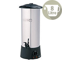 Burco Water Boiler Stainless Steel With Safety Cut Out 8 Litres