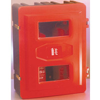 Polyethylene Fire Extinguisher Containers 2x9Kg Extinguisher