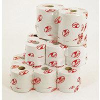 Toilet Tissue Rolls Premium Jumbo