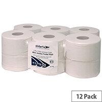 Toilet Tissue Rolls Standard Mini Jumbo