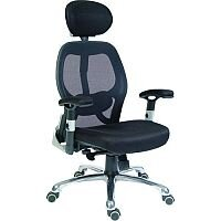 Cobham Contemporary Mesh Back Executive Office Chair Black