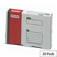 Printed Parcel Box Extra Small Pack of 20
