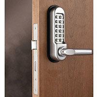 Mechanical Digital Door Lock With Lever Handle