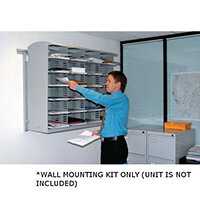 Superior Wall Mount Sort Unit - Wall Mounting Kit ONLY