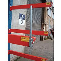 Heavy Duty Bolted Cantilever Racking End Stop 250mm Tall Consists Of 1 x Base Stop
