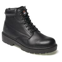 Dickies Black Super Safety Antrim Boots Size 7