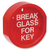 Break Glass Key Holder Box With Printed Glass