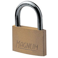 Economy Brass Padlock 25mm Shackle Pack of 2
