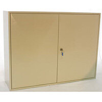 Key Cabinet Dead Bolt Locking 100 Key Capacity
