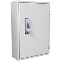 Key Cabinet - Slam Shut Locking 50 Key Capacity