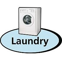 3D Pictorial Sign Laundry