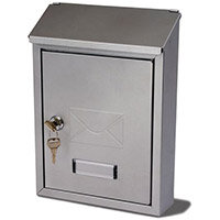 Basic Post Box Silver