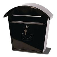 Humber Classic Post Box Black