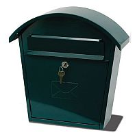 Humber Classic Post Box Green