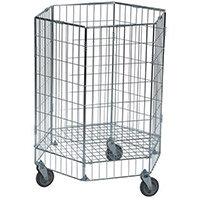 Konga Electro Galvanised Wire Basket Truck Hexagonal Capacity 100kg