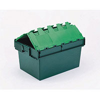 Attached Lid Container 64L