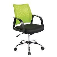 Coloured Back Mesh Operator Chair Black & Green